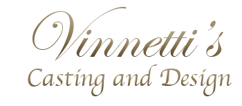 Vinnetti's Lost Wax Casting Logo 2