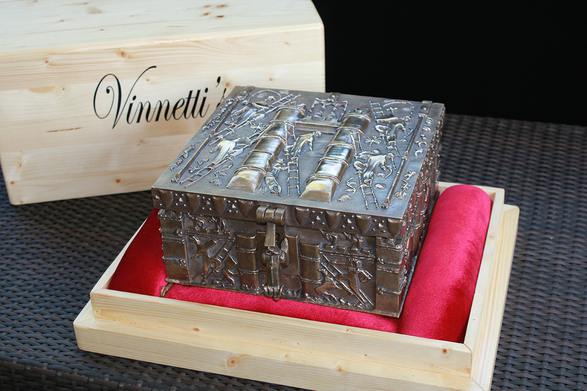 Forrest Fenn Commemorative Treasure Chest-The Thrill of The