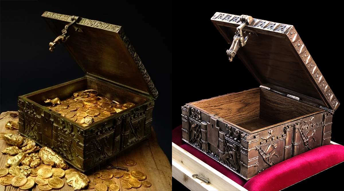 Forrest Fenn Commemorative Treasure Chest