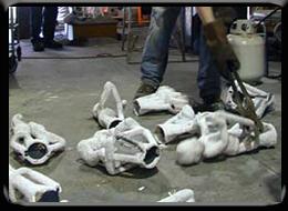 Bronze Art Gallery Process Break Out