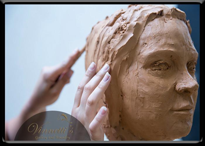 Clay Sculptor Vermont