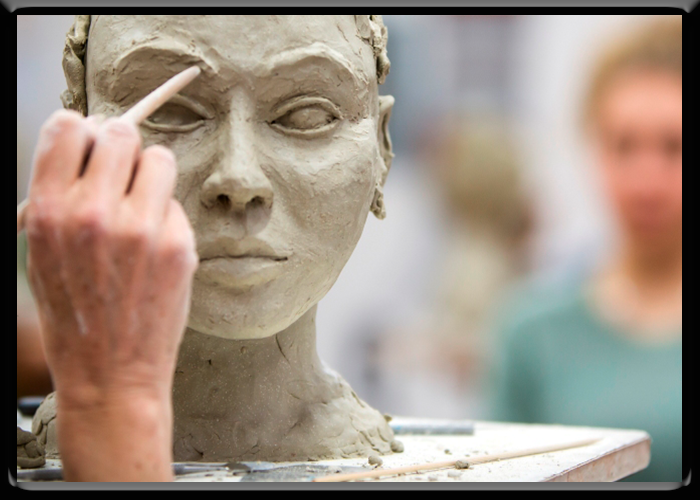 Sculpting Artist